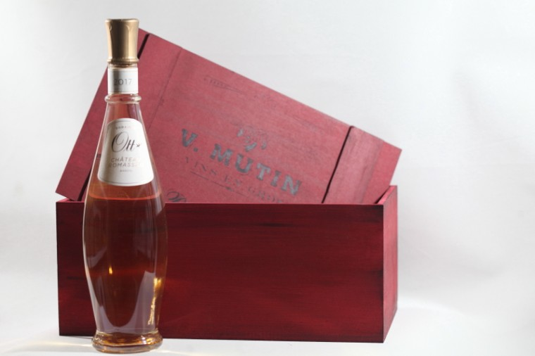 Ξύλινα κουτιά Για Κρασιά με  Company Logo (Κενά)