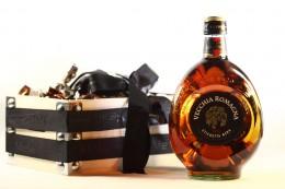 Ξύλινο Καλάθι Με Brandy & Γαλλικές Τρούφες