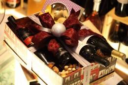 Χριστουγεννιάτικο κουτί Χειροποίητο Με Κρασιά & Λικέρ