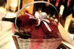 Καλάθι με Μεταλλικό Χερούλι 2 κρασιά