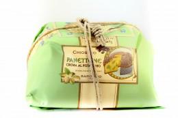 Panettone Μεγάλα χειροποίητα Με γεύση Φιστίκι Αιγίνης
