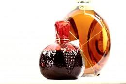 Γυάλινη Φιάλη Ρόδι 250 ml